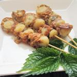 ほたて稚貝の串焼き(4人分)