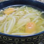 ほたて卵のエスニックスープ(4人分)